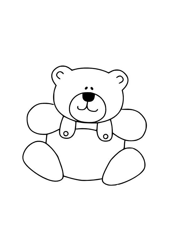 Free Printable Teddy Bear Coloring Pages For Kids In 2021 Teddy Bear Coloring Pages Bear Coloring Pages Spiderman Coloring