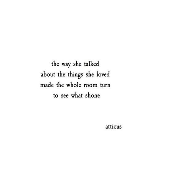 ATTICUS — #atticuspoetry #atticus #poetry #loveherwild #she...