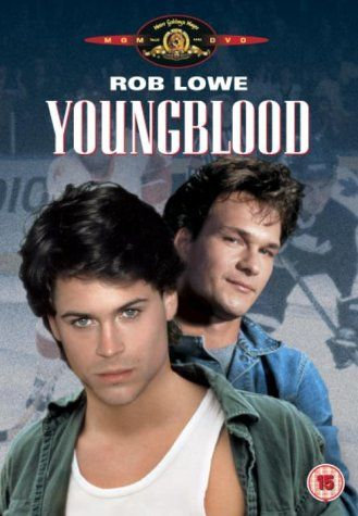 Youngblood: Rob Lowe, Cynthia Gibb, Patrick Swayze, Ed Lauter, Jim Youngs, Eric Nesterenko, George J. Finn, Fionnula Flanagan, Ken James, Peter Faussett, Walker Boone, Keanu Reeves, Peter Markle - director