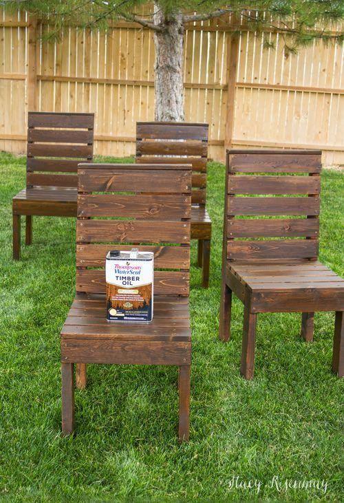 Easy Diy Outdoor Garden Patio Furniture The Garden Glove Diy Outdoor Furniture Outdoor Patio Table Outdoor Patio Decor