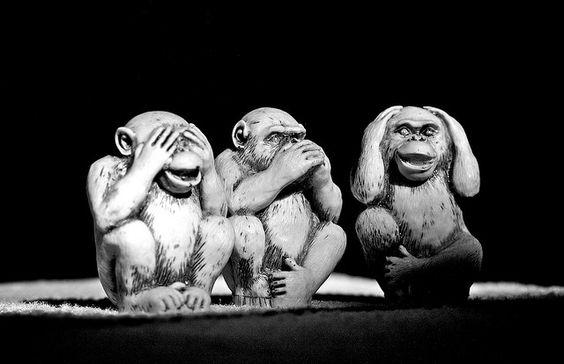 Three wise monkeys   F...