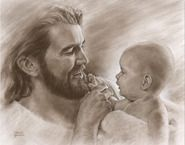 Christ with baby