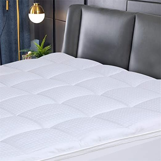 Grandre Luxury Mattress Pad Cover Cooling Mattress Topper Soft Pillowtop With Cotton Top Amp 8 21 Inches D In 2020 Luxury Mattresses Best Mattress Mattress Pad Cover