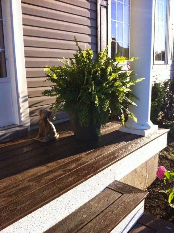 Best Concrete Porch Porches And Composite Decking On Pinterest 640 x 480