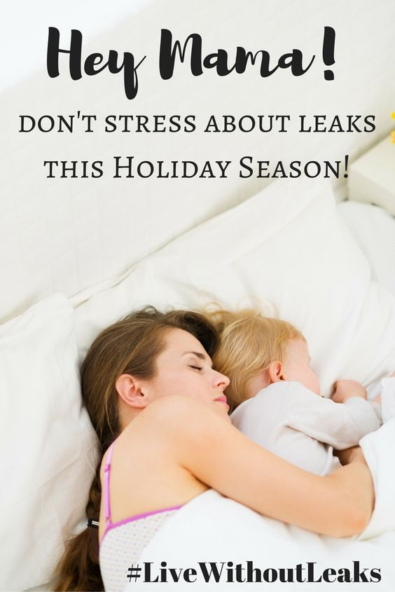 #LiveWithoutLeaks #ad This Holiday Season. Don't Worry about Leaks from Stress Urinary Incontinence!