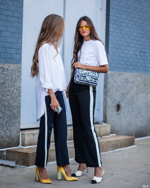 Friends who dress together, stay together | @andwhatelse