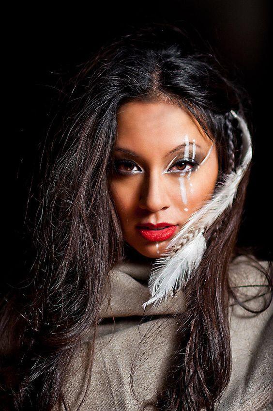 Native American woman- beautiful