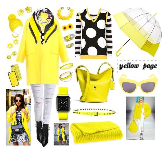 """""""Yellow page"""" by suzella on Polyvore"""