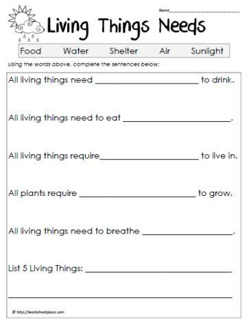 Printables Living Vs Nonliving Worksheet science worksheets and on pinterest living vs non more