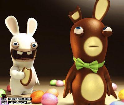 Pedazo entrada especial del día de Pascua, geniales juegos de conejos!