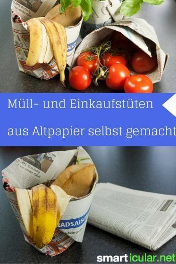 Brief Falten Ohne Kleben : Mülltüten und einkaufstüten ohne kleben aus zeitungspapier