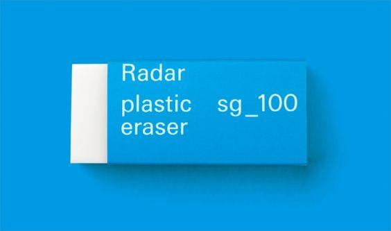 """""""よく消える""""だけじゃありません! 「GRAPH×SEED」の新パッケージがカッコいい。 1968年の発売以来、ロングセラーを続けている消しゴム「レーダー」は、「ニュースタンダード」としてのデザインを追及。「Gレーダー」"""