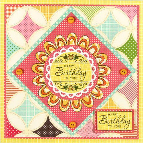 designed by Kellie Fortin using JustRite Birthday Celebrations