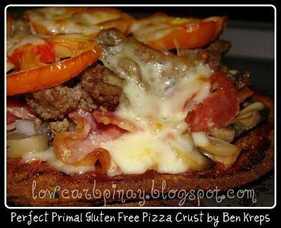 Low Carb Pinay: Like It's The Only Pizza Crust Recipe You'll Ever Need