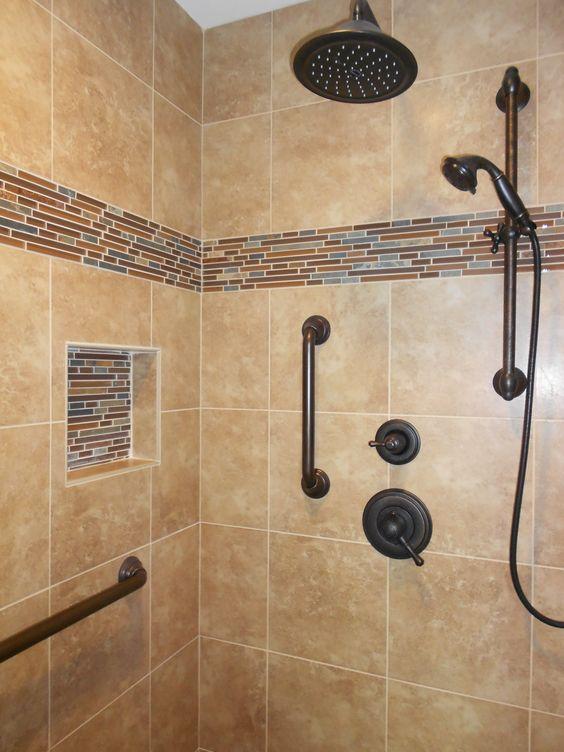 Plumbing From Delta Venetian Bronze Shower Head With