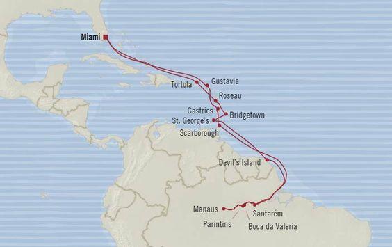 Itinerary & Fares - Imperial Grandeur- Oceania - 23 Day Voyage Regatta - http://www.cruiseshipcenters.com/jeanninepringle - jpringle@cruiseshipcenters.com