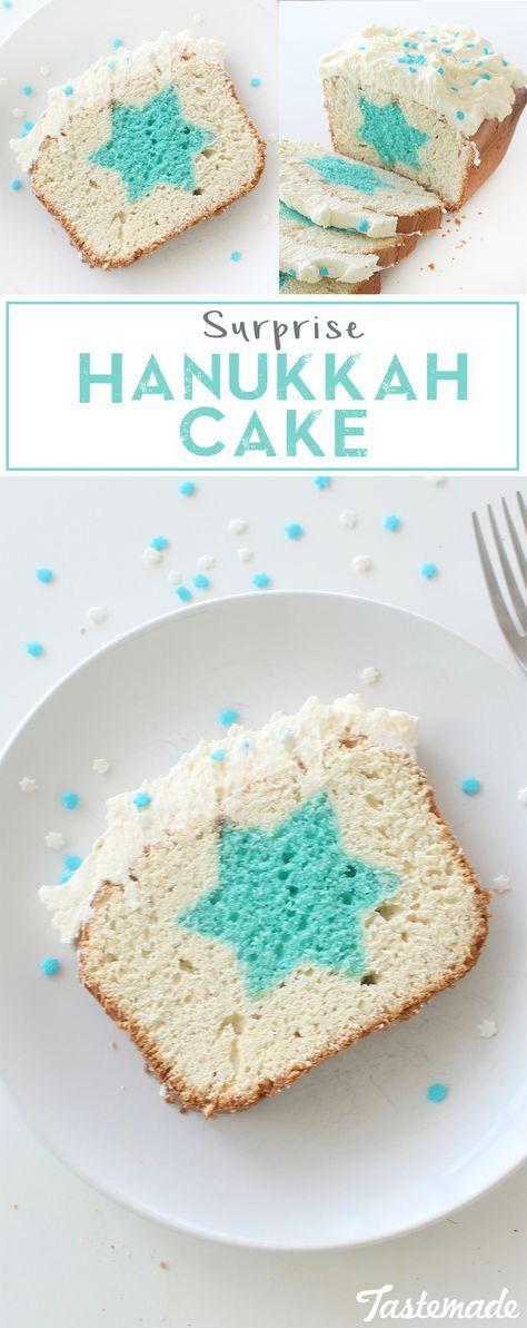 Surprise Hanukkah Cake