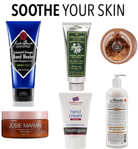 Winter skin care tips for cleansing, moisturizing and soothing skin in the cold.
