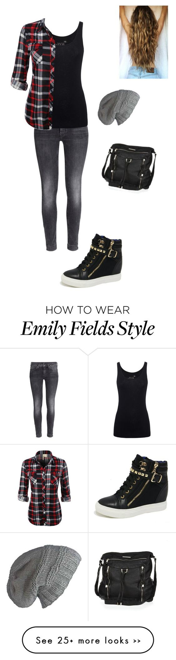 """""""Emily Fields"""" by grunge3003 on Polyvore"""
