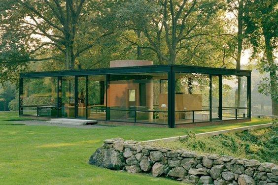 1949-51 Philip Johnson's Glass House, New Canaan, Connecticut