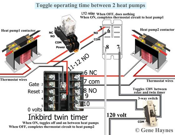 Override Heat Pump Hvac Heat Pump House Wiring Heat Pump Unit