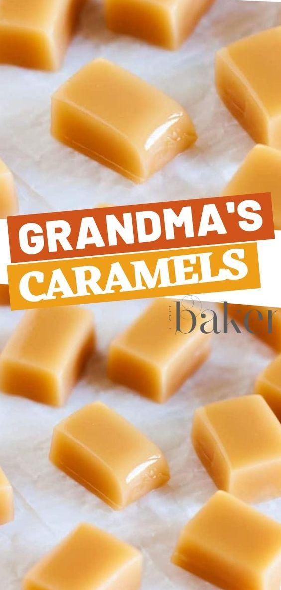 Grandma's Perfect Caramels