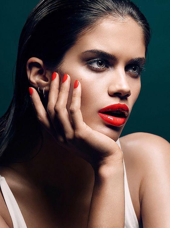 Sara Sampaio for Stella Magazine by Tony Kim / makeup by Gucci Westman