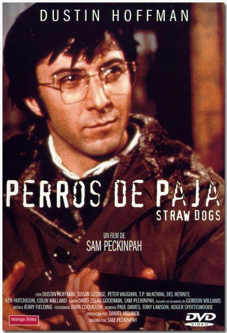 Perros de paja (1971) Reino Unido. Dir: Sam Peckinpah. Drama. Thriller. Temas de xénero. Películas de culto - DVD CINE 1456: