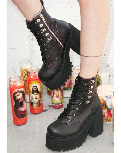 Demonia Deathstalker Boots   Dolls Kill