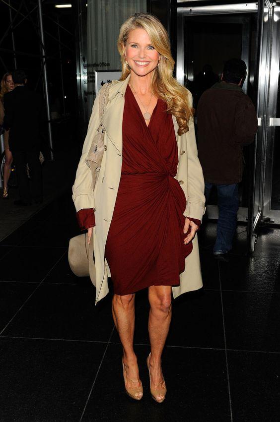 Glamour. Christie Brinkley's Style Evolution. 2010 Getty.