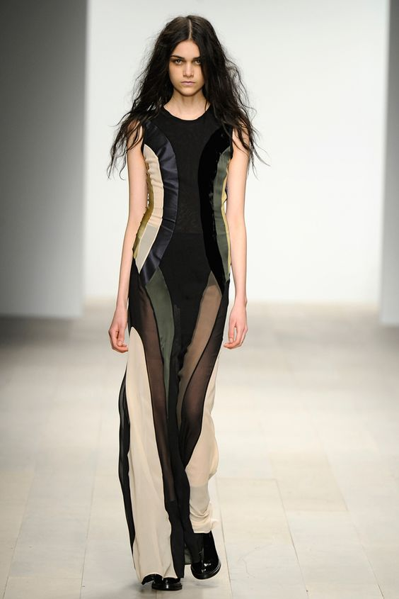 John Rocha RTW A/W 2012/13.  Model - Isabella Melo.