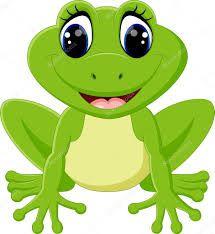 Resultado de imagen para rana animado   Imagenes infantiles de animales,  Ranas, Arte de rana