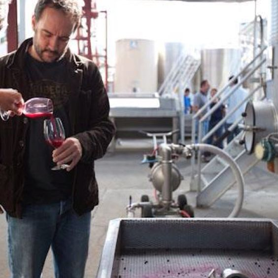 Dave Matthews works on making his Dreaming Tree wines