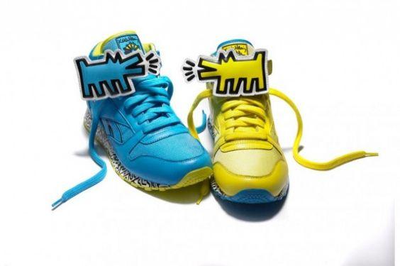 Reebok x Keith Haring sneakers
