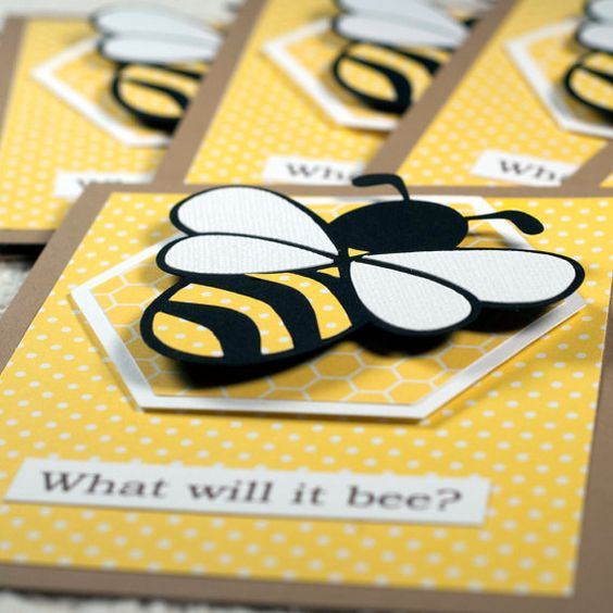 Amys started listing her clever party supplies What Will it Bee – Clever Party Invitations