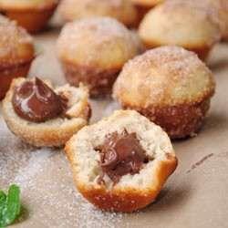 nutella stuffed muffins!!!