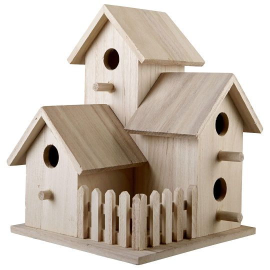You Tube How To Paint Wood Birdhouse