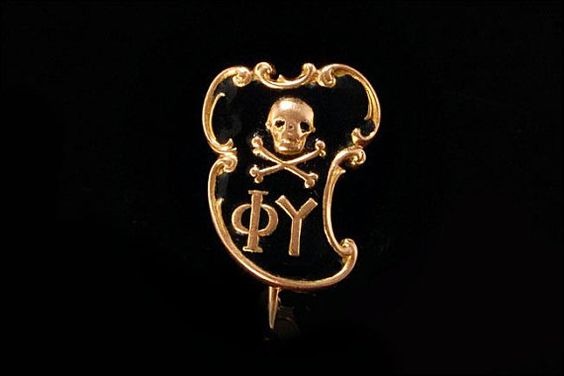 Antique Victorian 10k Gold Fraternity Skull by SummitTreasures