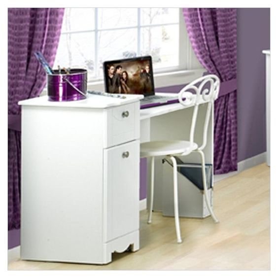 Cool teenagers desks furniture comely teens bedroom student desk for teenaged with white finish - Amazing teenage girl desks ...