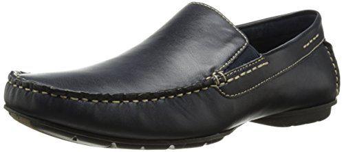 Zapatillas de barco M-Gameon para hombres, Azul, 11 M US