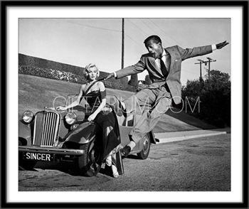 Frank Worth Gallery Sammy Davis Jr. and Marilyn Monroe