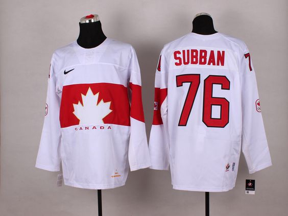 NHL Winter Olympics Canada Hockey Jerseys 28