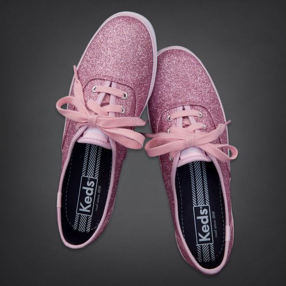 Bettys Hollister + Keds Champion Glitter Sneakers | HollisterCo.com