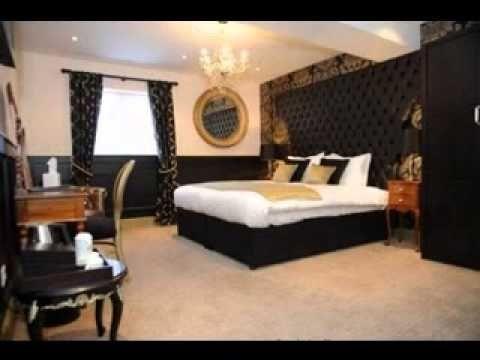 Elegant Black And Gold Room Decor Black And Gold Bedroom Ideas
