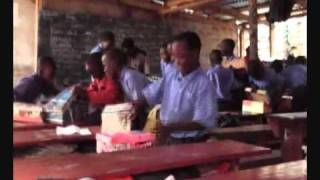 Operation Christmas Child child dancing - YouTube