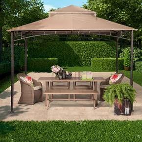 Madaga Gazebo Collection Threshold Target Gazebo Backyard Gazebo Outdoor Furniture Sets