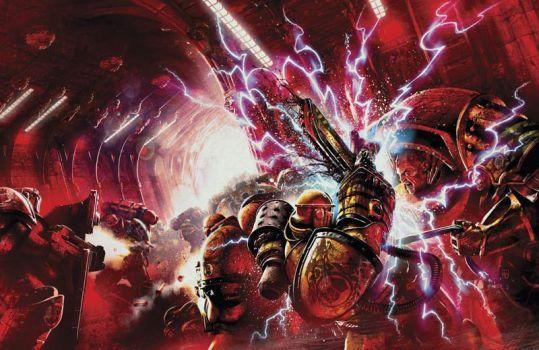 Resultado de imagen de horus heresy imperial fist art