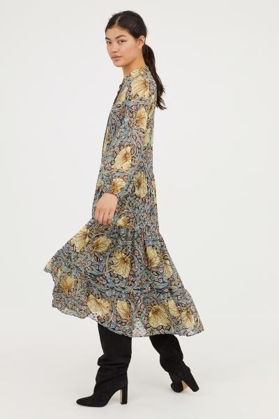 new authentic autumn shoes wholesale price Robe longue à motif | William Morris arts & craft en 2019 ...