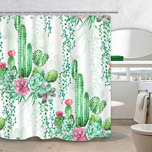 Pin On Cactus Decor In Bathroom