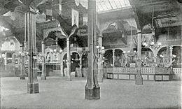 le Bal Bullier, interior